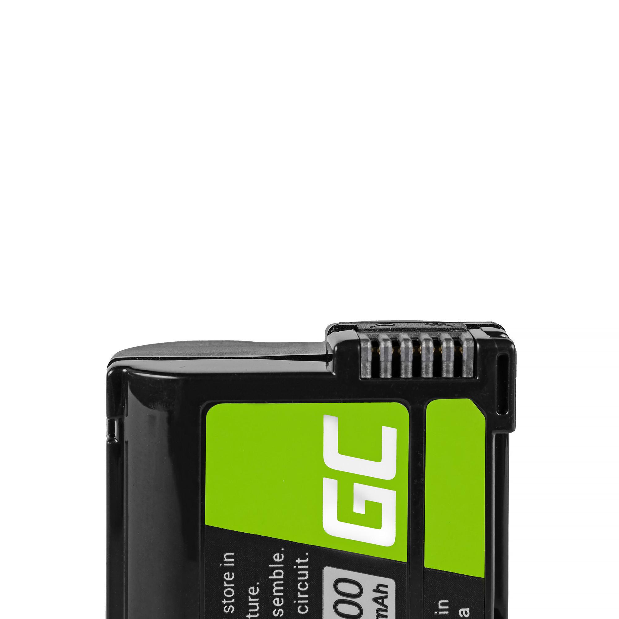 Green Cell Battery EN-EL15 ® Nikon D850, D810, D800, D750, D7500, D7200, D7100, D610, D600 7.0V 1400mAh