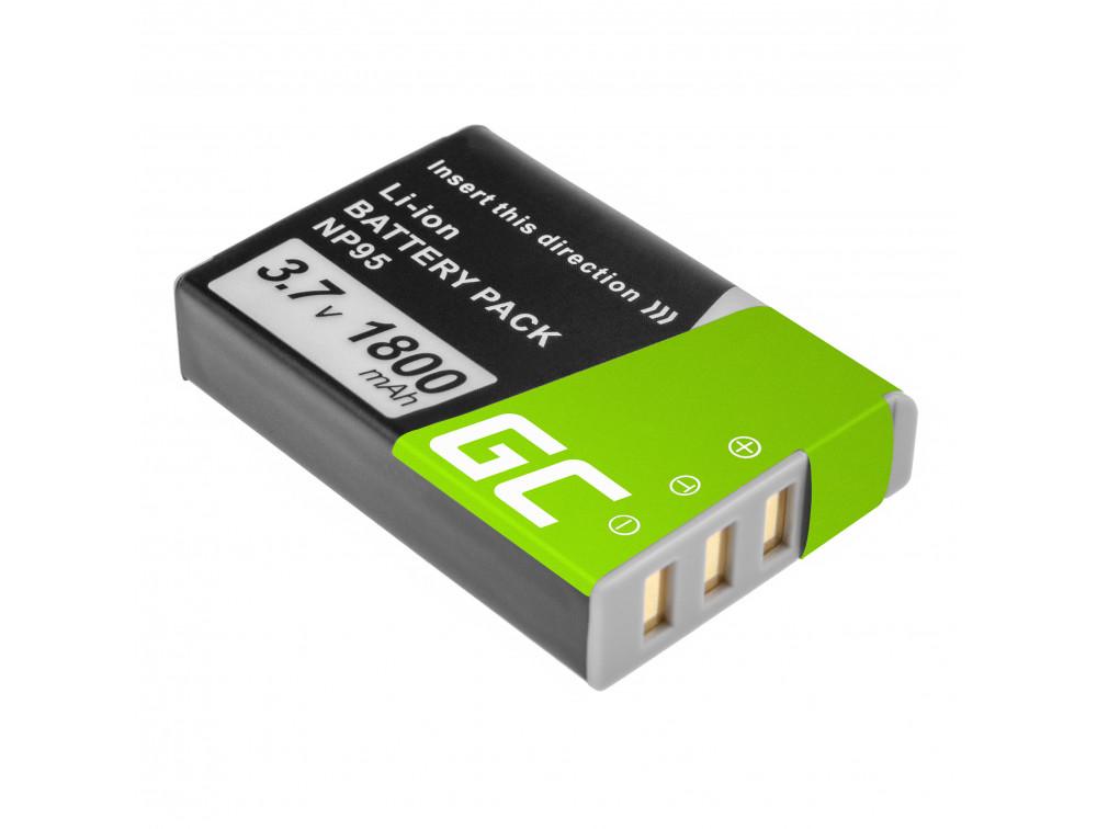 Green Cell akkumulátor Fujifilm Finepix  3.7V 1500mAh