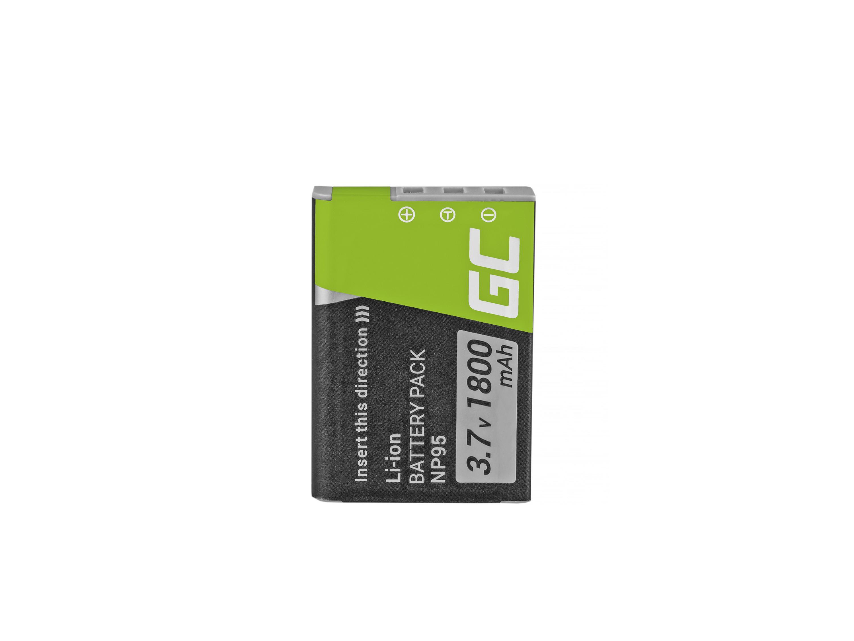 Green Cell Baterie NP-95 Fujifilm Finepix X30 X70 X-S1 X100s X100 X100T F30 F31 3.7V 1500mAh