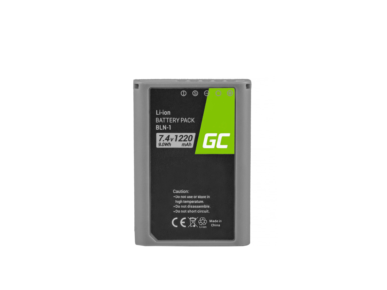 Baterie Green Cell Olympus BLN-1/BCN-1 Olympus PEN-F, OM-D EM1, EM5, OM-D E-M5 Mark II 1020mAh Li-ion - neoriginální