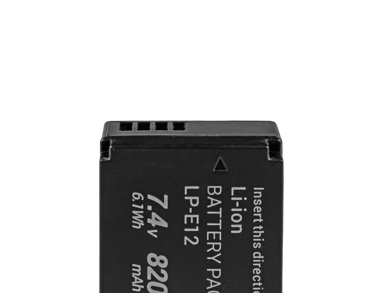 Baterie Green Cell Canon LP-E12 Canon EOS M100, EOS100D, EOS-M, EOS M2, EOS M10, Rebel SL1 820mAh Li-ion - neoriginální
