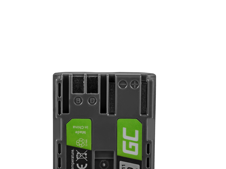 Green Cell BP-511 Camera Battery for Canon EOS 5D, 10D, 20D, 30D, 50D, D30, 300D, PowerShot G1, G2, G3, G5, Pro 1 7.4V 1600mAh
