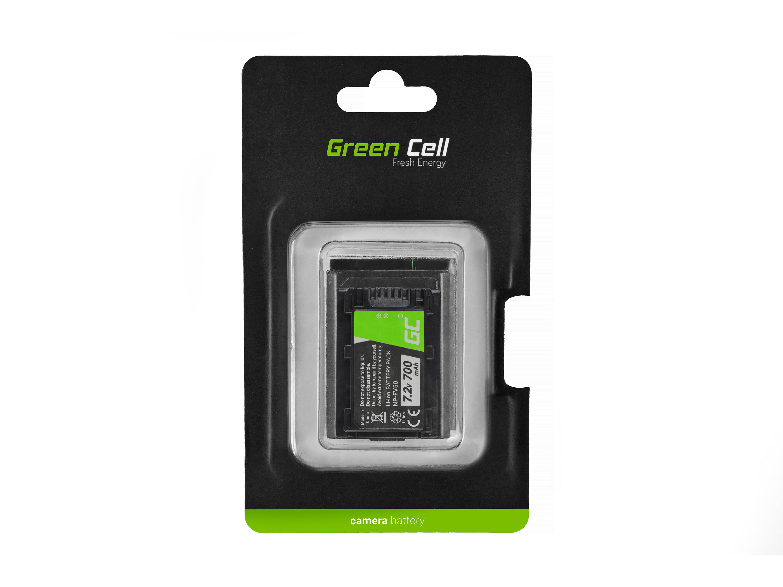 Baterie Green Cell Sony NP-FV50/NP-FV100 DCR-DVD506E DCR-DVD510E HDR-CX116E HDR-CX130 HDR-CX155E HDR-UX9E 700mAh Li-ion - neoriginální
