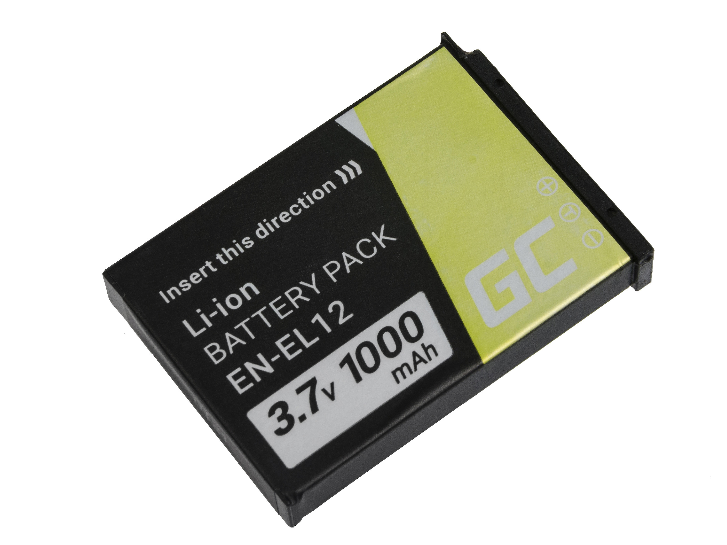 Green Cell Baterie pro Nikon Coolpix AW100 AW110 AW120 S9500 S9300 S9200 S9100 S8200 S8100 S6300 3.7V 1000mAh