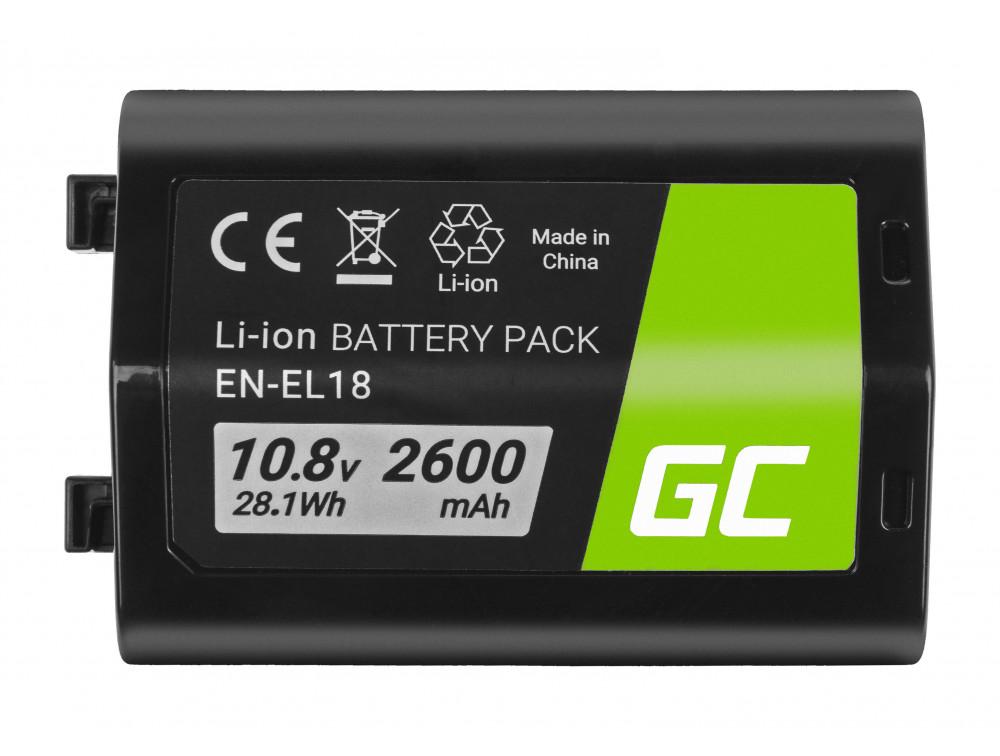 Green Cell akku ENEL18 ENEL18 Nikon D4, D4S, D5 10.8V 2600mAh