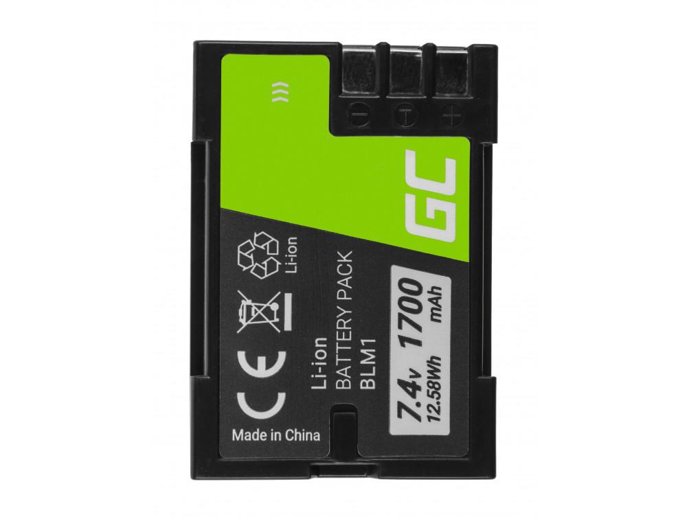 Green Cell akku BLM1 BLM1 Olympus CAMEDIA C-7070, E-300, E-500 7,4V 1700mAh