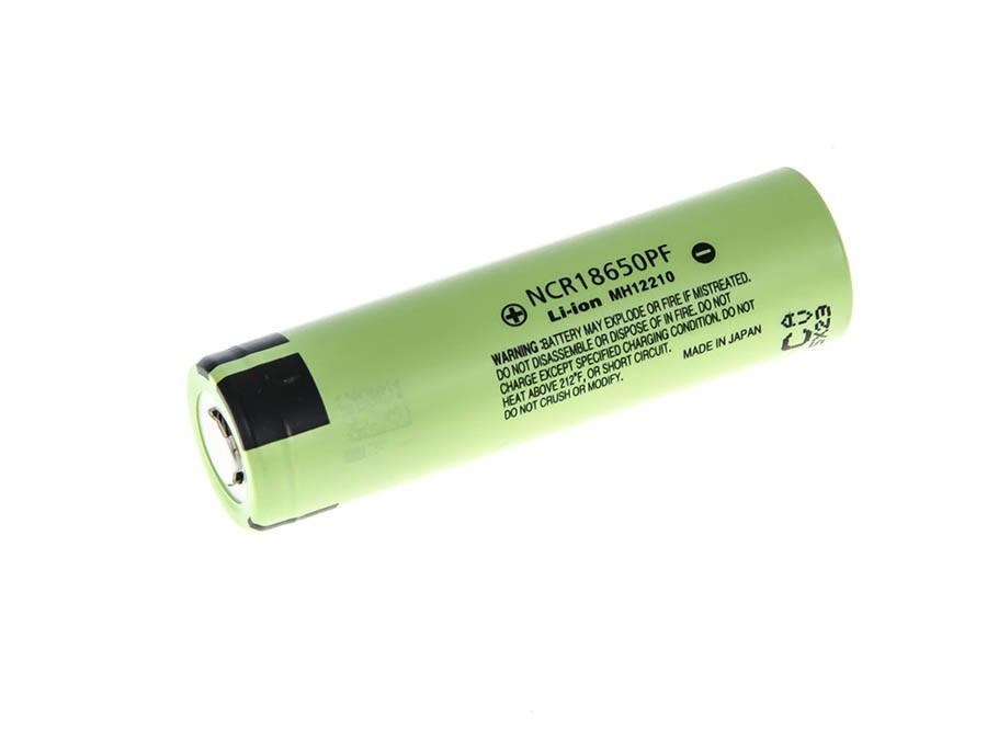 Li-Ion Panasonic Cell 18650 NCR18650PF 2900mAh