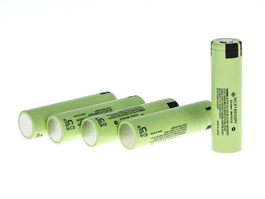 Green Cell Baterie Lithium-iontový článek 18650 NCR18650PF Panasonic 3,6V 2,9Ah Li-Ion