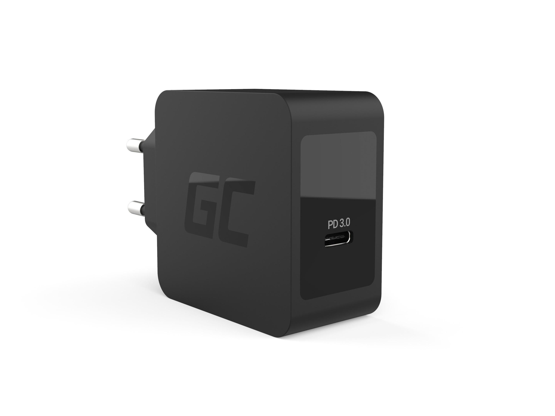 Green Cell Nabíječka USB-C 18W PD pro Samsung Galaxy S8 S8+ S9 S9+ Note 8, iPhone X / 8 / 8 Plus, Nintendo Switch a ostatní