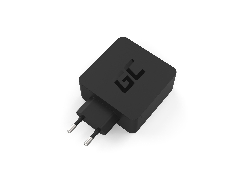 Green Cell Nabíječka USB-C 60W PD s kabel USB-C pro Apple MacBook Pro 13, Asus ZenBook, HP Spectre, Lenovo ThinkPad an ostatní