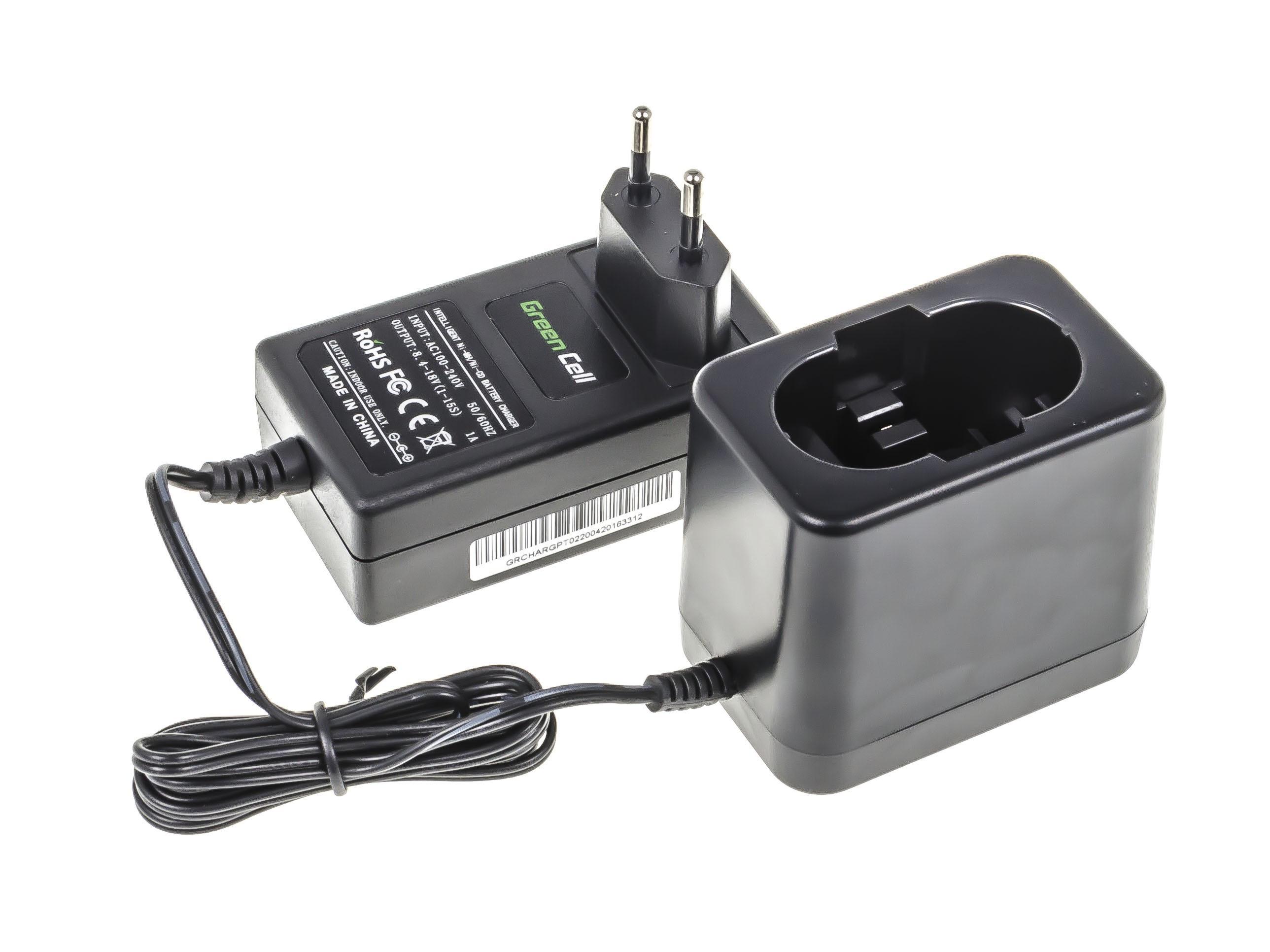 Green Cell CHARGPT02 Nabíječka pro Bosch O-Pack 3300K PSR 12VE-2 GSB 12 VSE-2 BAT043 BAT045 AL2411DV