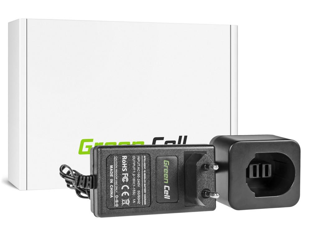 Green Cell Power Tool akkumulátor töltő DeWalt 8.4V -18V Ni-MH Ni-Cd