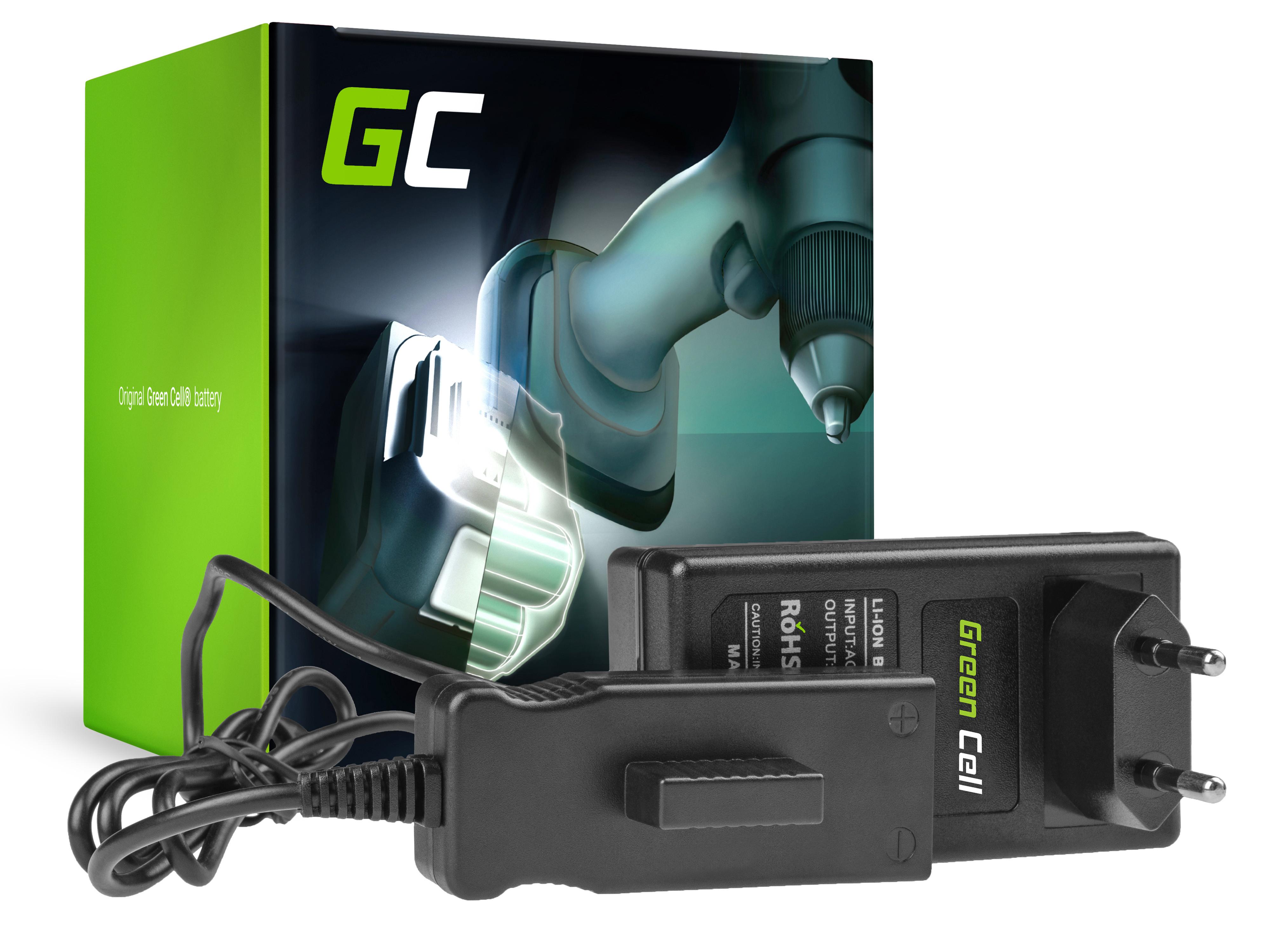 Green Cell CHARGPT11 Nabíječka pro Gardena 4025-00 04025-20 08838-20 8838-20 8838 8838-U 8838U 4025 4025-20 380EC 380LI 25V
