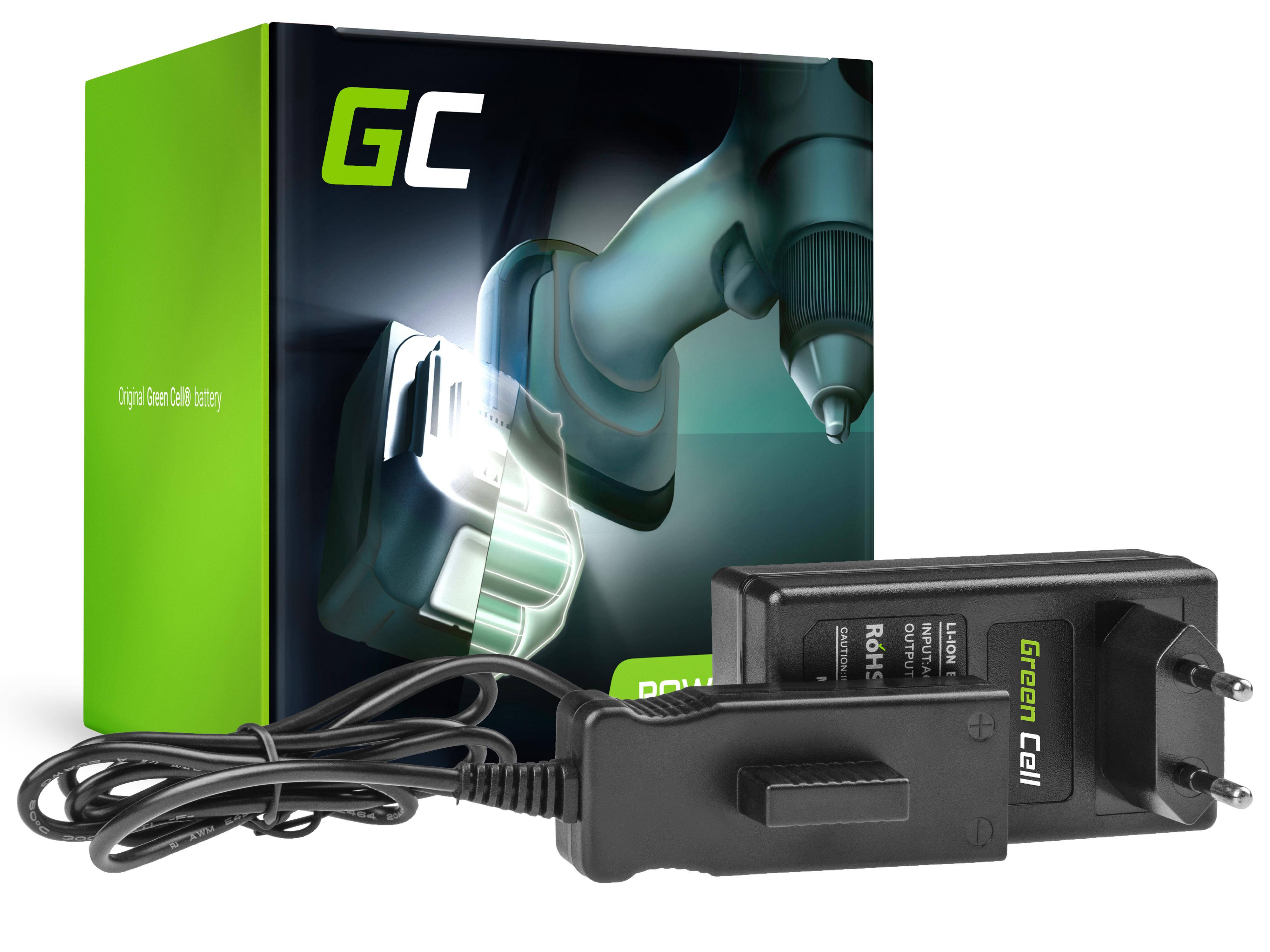 Green Cell CHARGPT12 Nabíječka pro Gardena Bli-18 8832-20 09839-20 9839 9333 9839-20 9840 9840-20 BLi-18 AccuCut Li 450