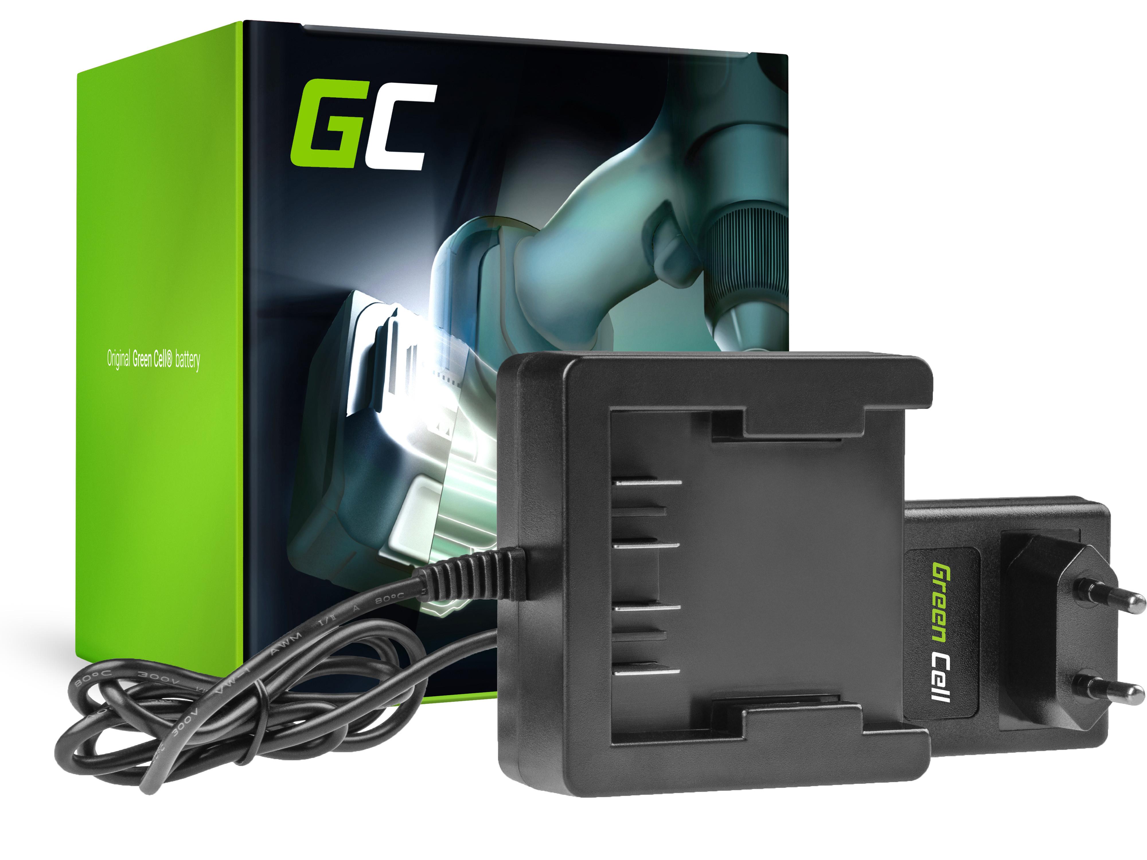 Green Cell Charger 29862 29702 25.2V GreenWorks 21.6-24V Li-Ion 29842 29852 G24 G24B2 G24CD GD24IW
