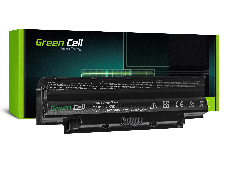 Green Cell Baterie pro Dell Inspiron N3010 N4010 N5010 13R 14R 15R J1 / 11,1V 4400mAh