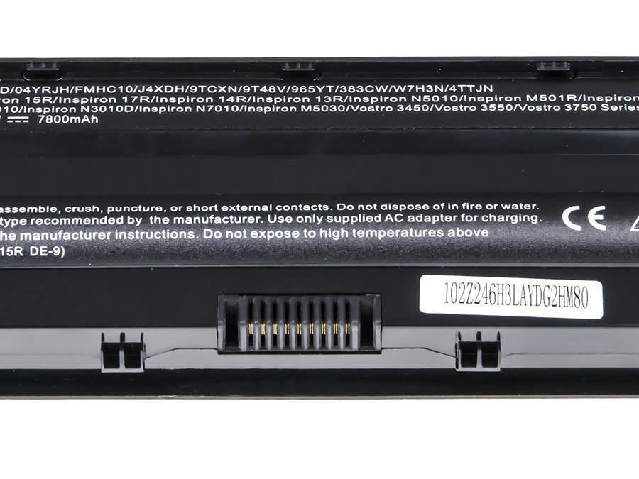 Green Cell PRO Battery for Dell Inspiron N3010 N4010 N5010 13R 14R 15R J1 (bottom) / 11,1V 7800mAh