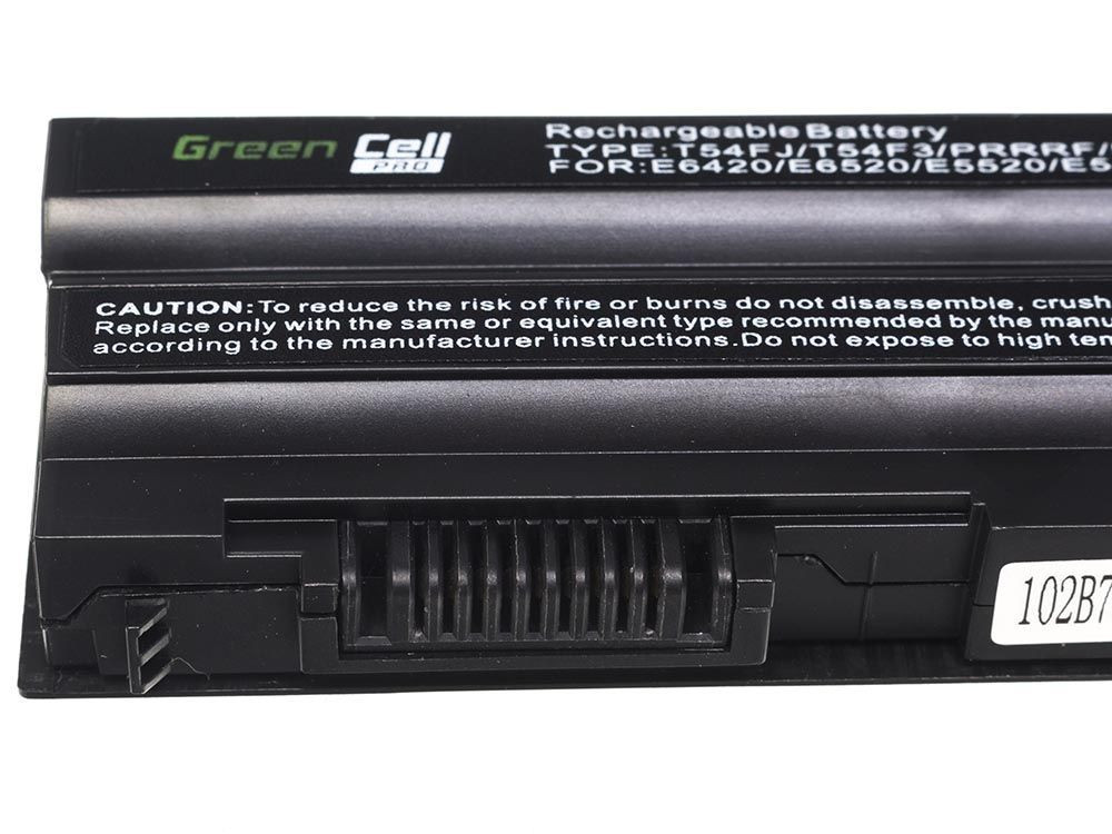 Green Cell DE04PRO Baterie Dell Latitude E5420/E5520/E6420/E6520/E6540 5200mAh Li-ion - neoriginální