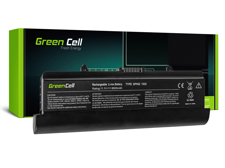 Green Cell DE06 Baterie Dell Inspiron 1525/1526/1545/1546/PP29L/PP41L/Vostro 500 6600mAh Li-ion - neoriginální