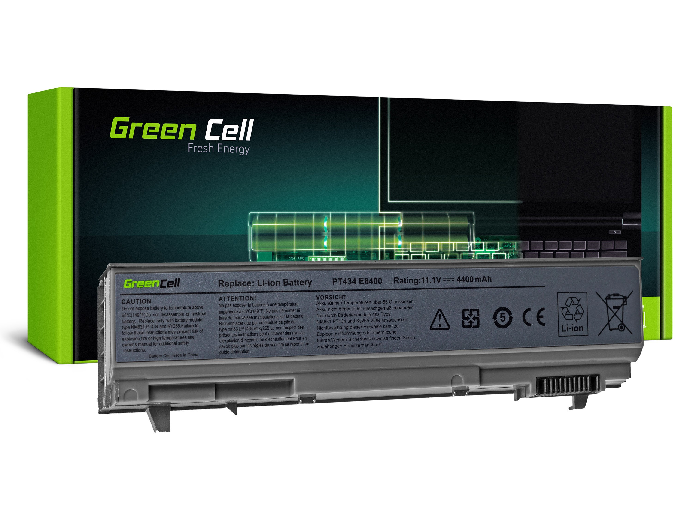 Green Cell DE09 Baterie Dell Latitude E6400/E6410/E6500/E6510/6400/M2400/M4400 4400mAh Li-ion - neoriginální