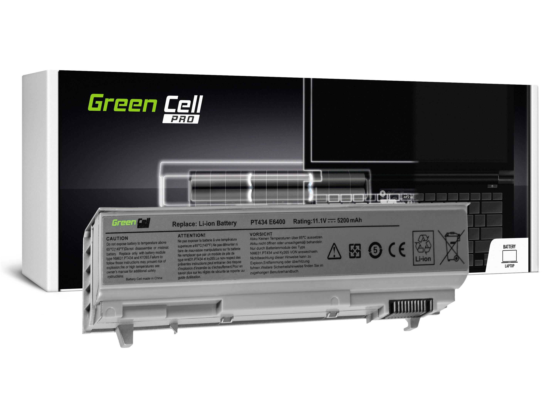 Green Cell DE09PRO Baterie Dell Latitude E6400/E6410/E6500/E6510/6400/M2400/M4400 5200mAh Li-ion - neoriginální