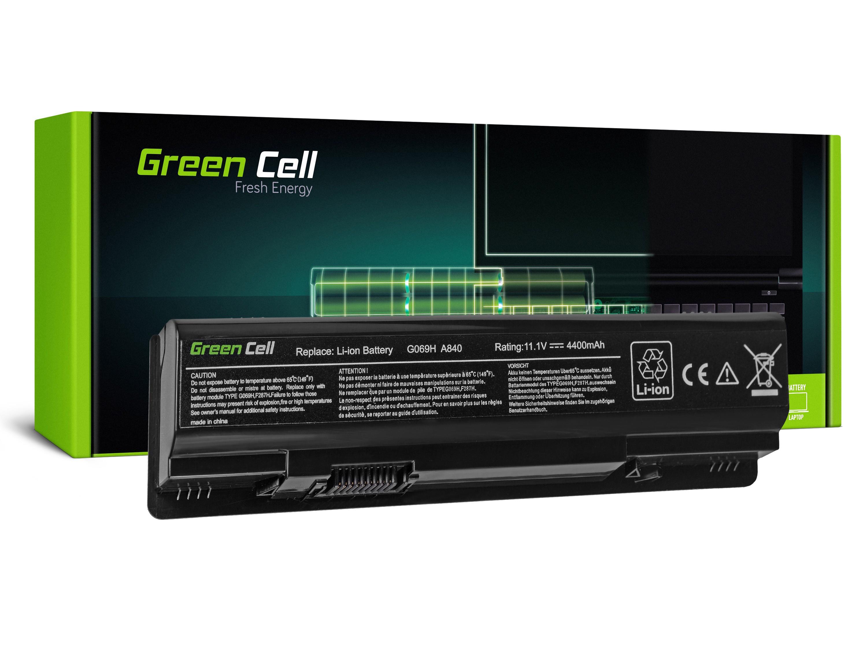 Green Cell DE11 Baterie Dell Vostro 1014 1015 1088 A840 A860 Inspiron 1410 4400mAh Li-ion - neoriginální