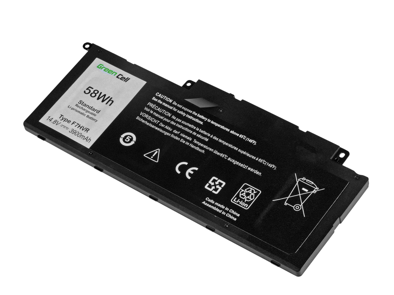 Green Cell Battery for Dell Inspiron 15 7537 17 7737 7746 / 14,4V 3800 mAh