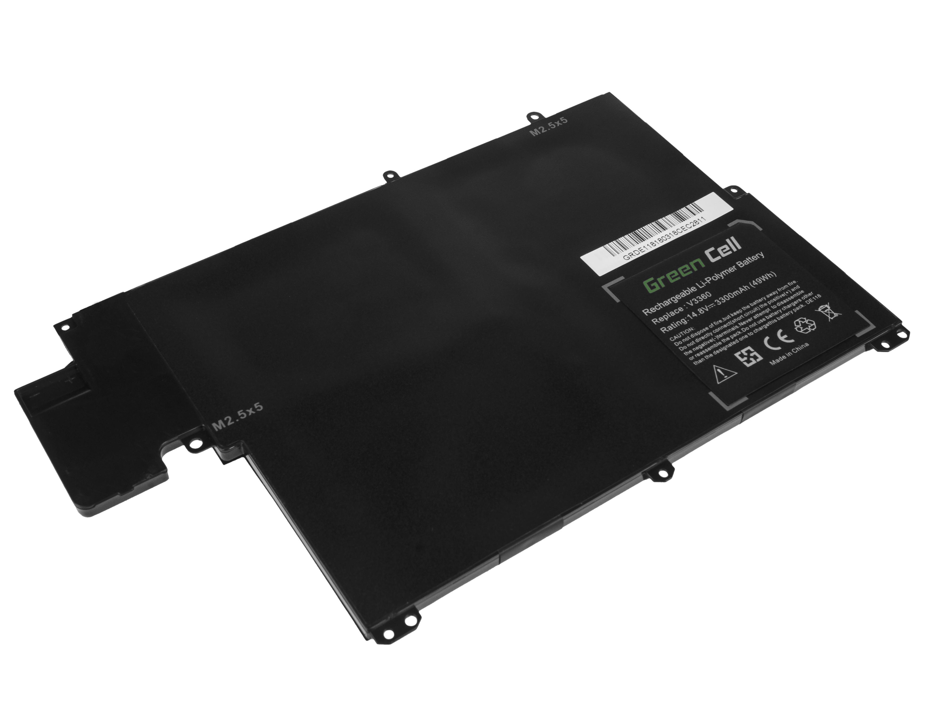 Green Cell DE118 Baterie Dell Vostro 3360/Inspiron 13z 5323/TKN25 3300mAh Li-Pol – neoriginální