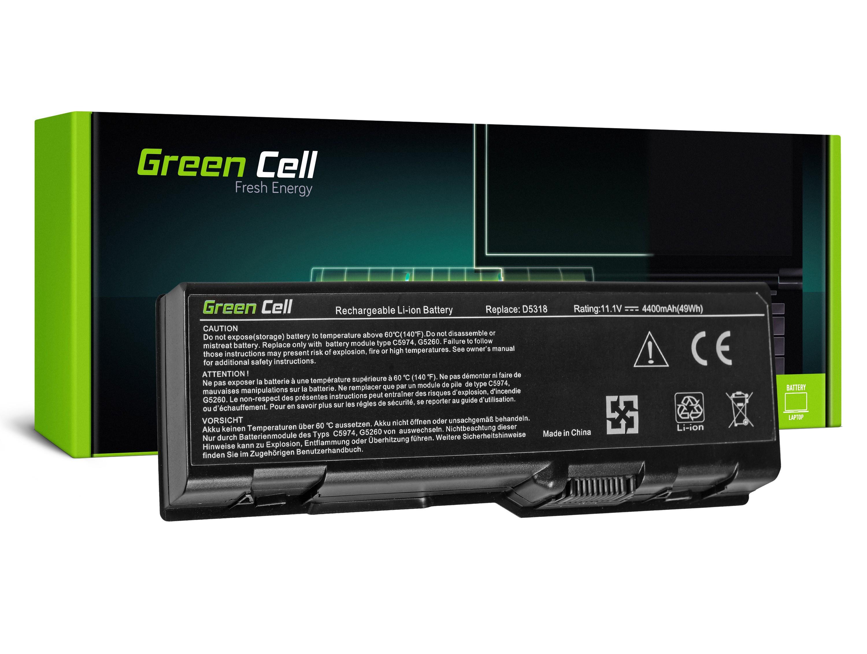 Green Cell DE12 Baterie Dell Inspiron 6000/9300/9400/E1705/Precision M90 M6300 4400mAh Li-Pol – neoriginální