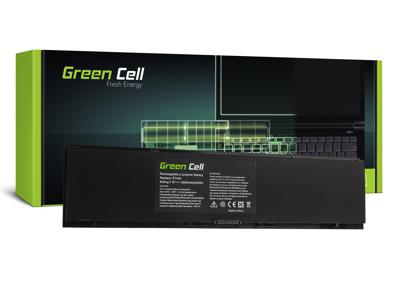 Green Cell Battery for Dell Latitude E7440 / 7,4V 6000mAh