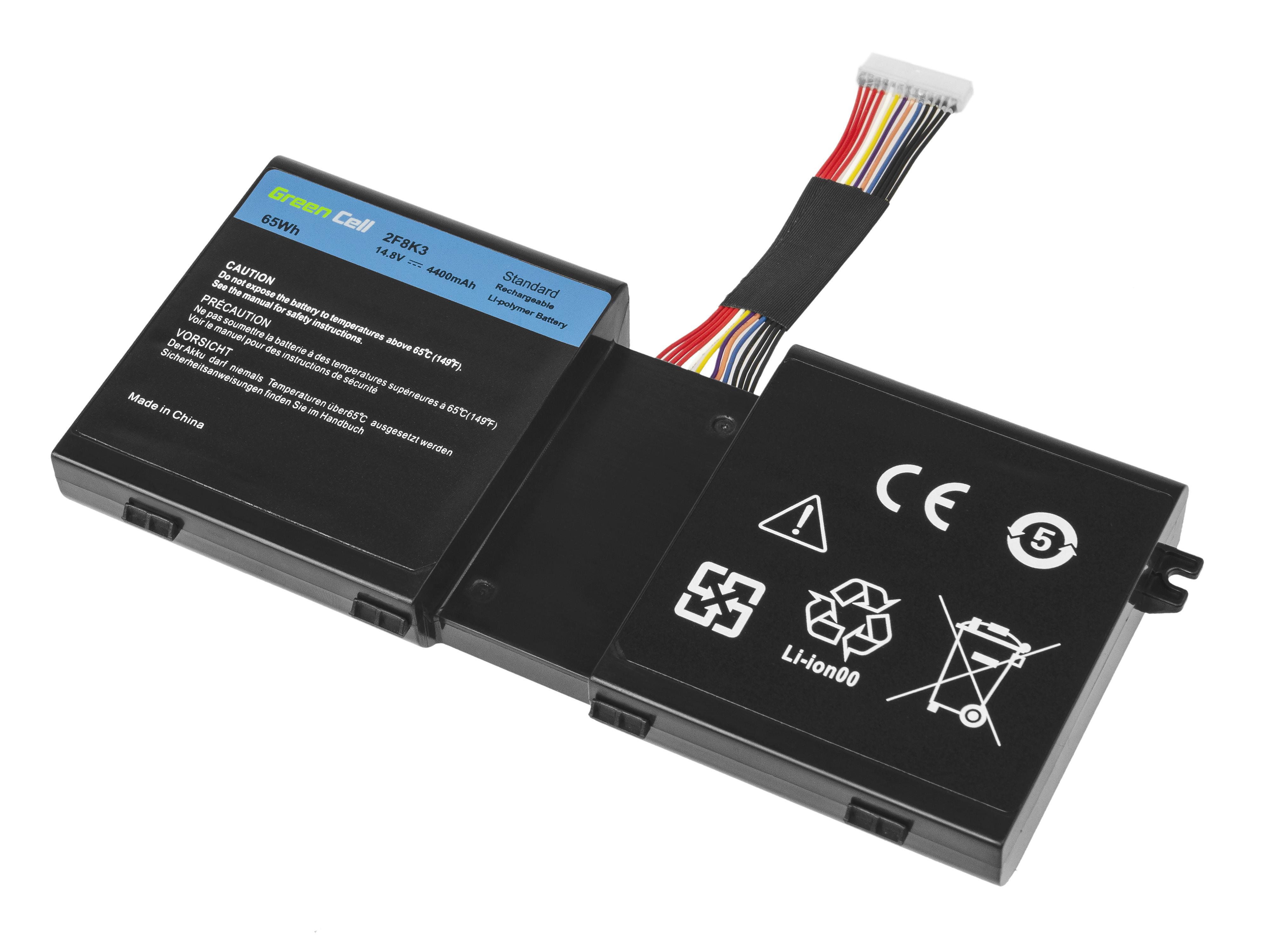 Green Cell DE125 Baterie Dell 2F8K3/Dell Alienware 17 18 4400mAh Li-Pol – neoriginální