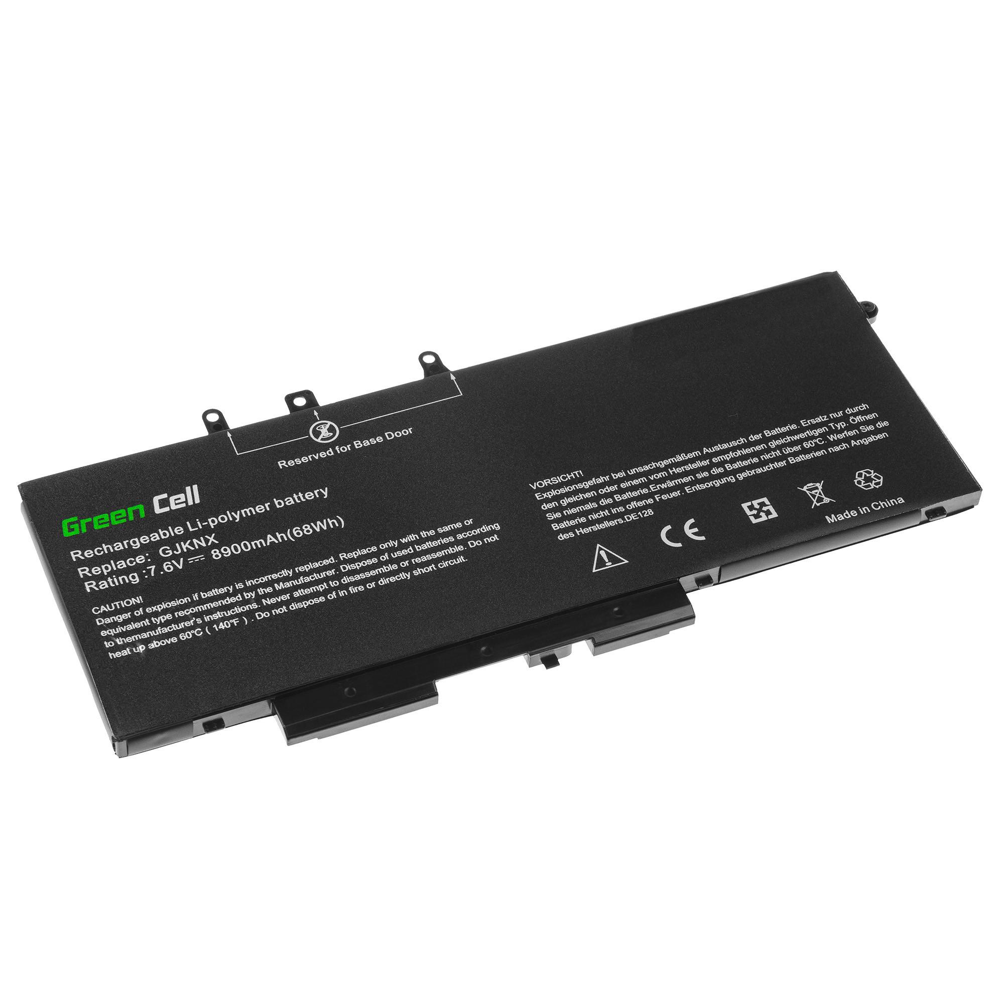 Green Cell DE128 Baterie Dell 93FTF GJKNX, Dell Latitude 5280 5290 5480 5490 5491 5495 5580 5590 5591 Precision 3520 3530 8900mAh Li-Pol – neoriginální
