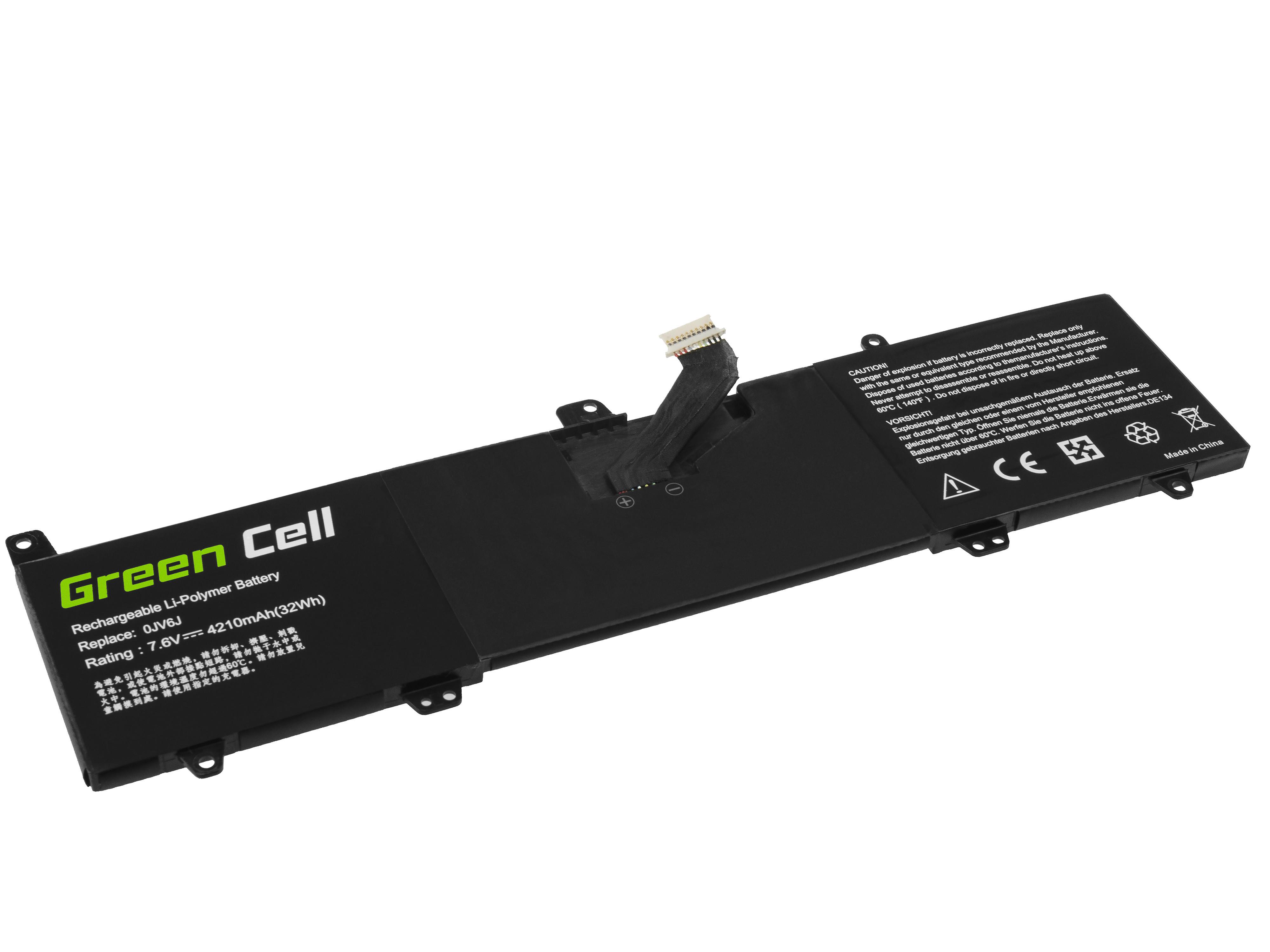 Green Cell Baterie 0JV6J pro Dell Inspiron 11 3162 3164 3168 3169 3179 3180 3185