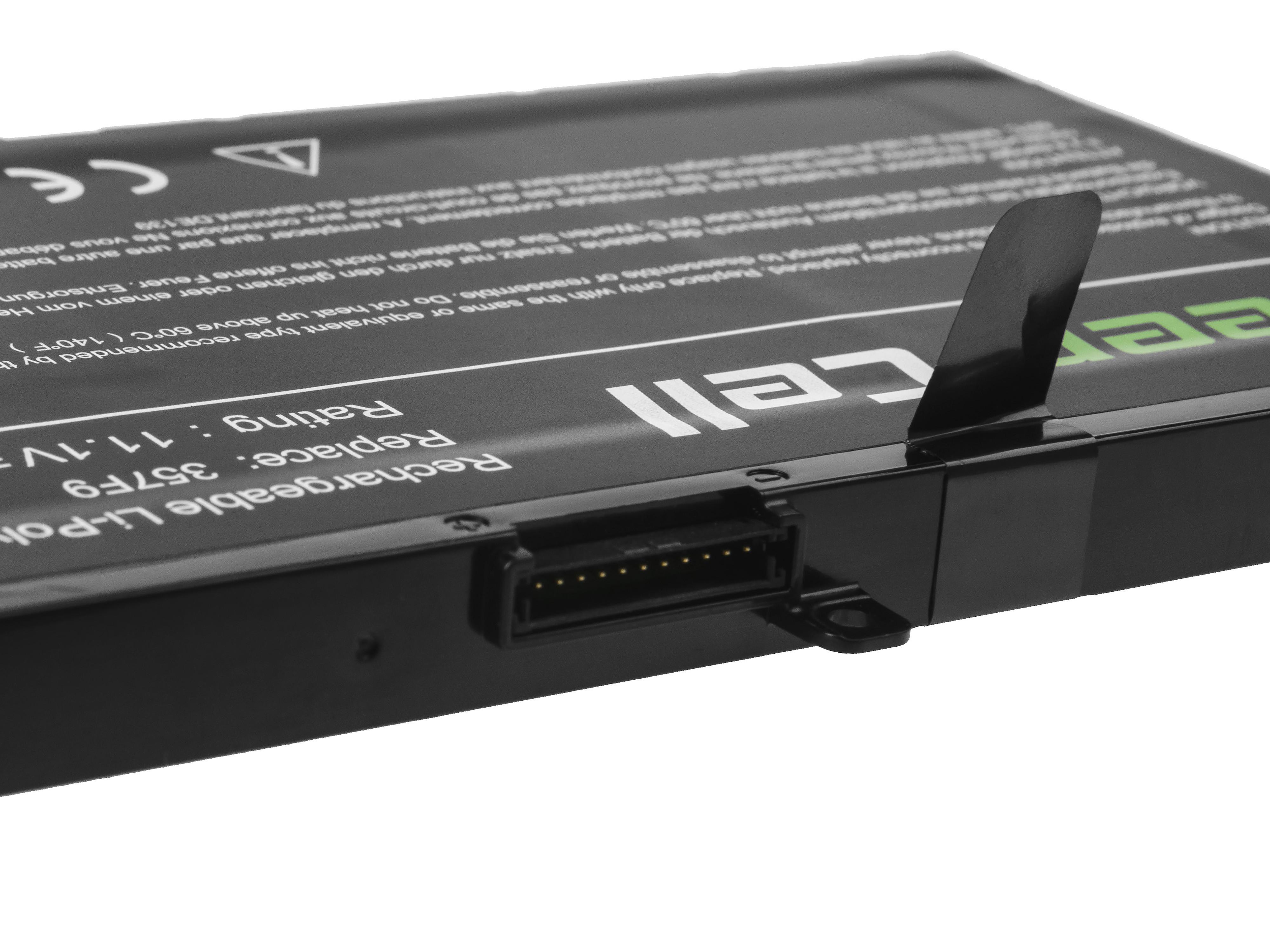 Green Cell DE139 Baterie Dell 357F9, Dell Inspiron 15 5576 5577 7557 7559 7566 7567 4200mAh Li-Pol – neoriginální