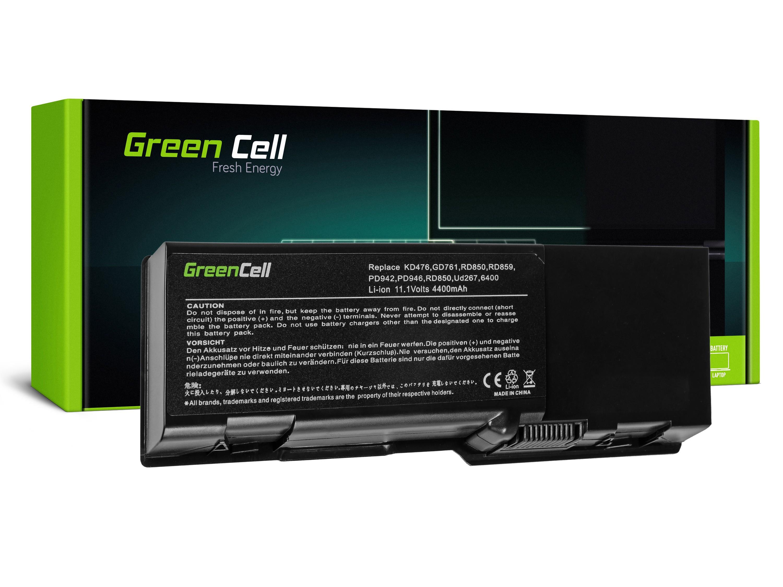 Green Cell DE20 Baterie Dell Vostro 1000/Inspiron E1501/E1505/1501/6400 4400mAh Li-ion - neoriginální