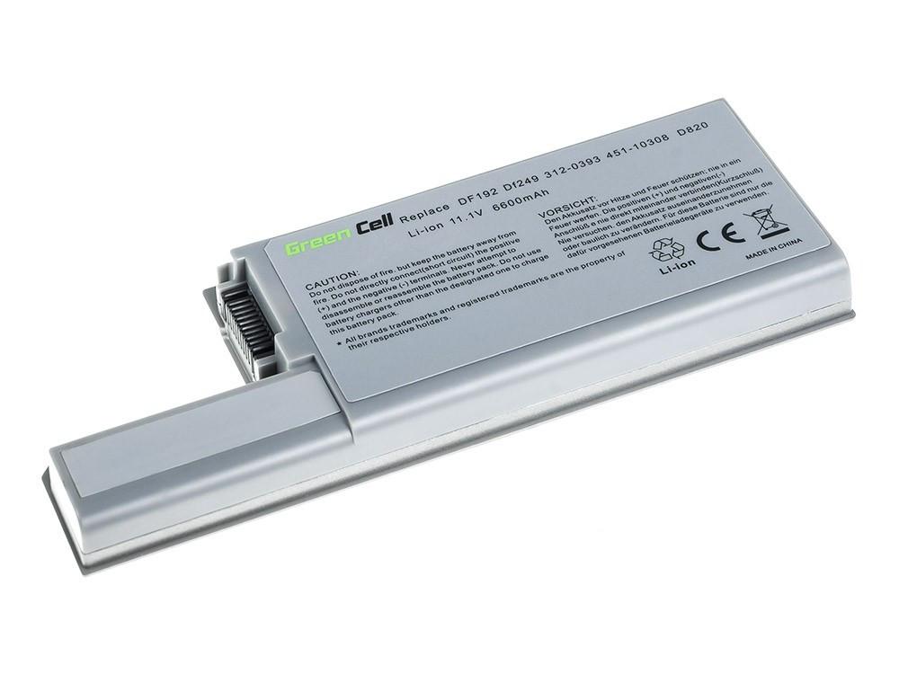 Green Cell DE34 Baterie Dell Latitude D531/D531N/D820/D830/PP04X/Precision M65 6600mAh Li-ion - neoriginální