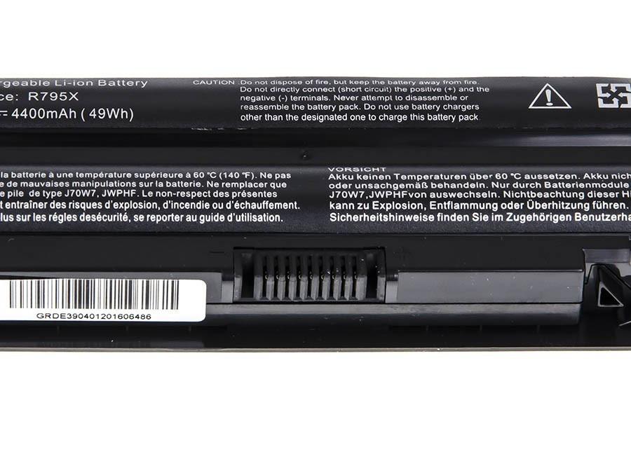 Green Cell DE39 Baterie Dell XPS 14/14D/15/15D/17 4400mAh Li-ion - neoriginální