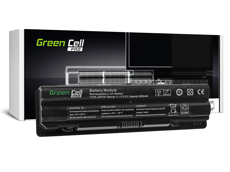 Green Cell PRO Baterie pro Dell XPS 14 14D 15 15D 17 / 11,1V 5200mAh
