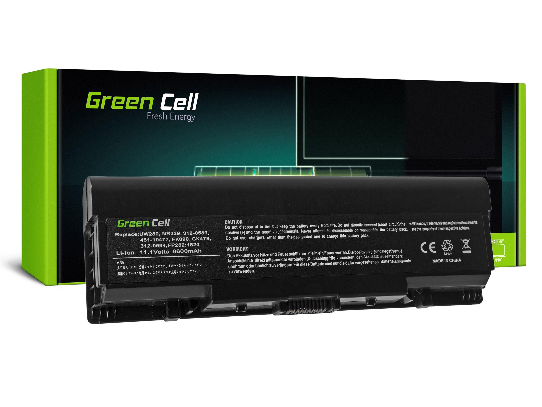 Green Cell Baterie pro Dell Inspiron 1500 1520 1521 1720 Vostro 1500 1521 1700L / 11,1V 6600mAh