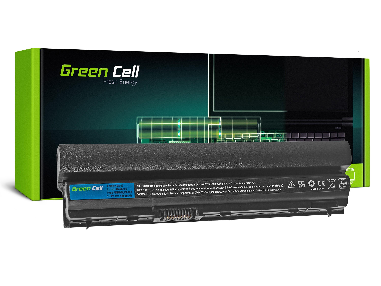 Green Cell DE55 Baterie Dell Latitude E6220/E6230/E6320/E6320 4400mAh Li-ion - neoriginální