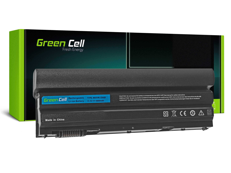 Green Cell DE56T Baterie Dell Latitude E6420/E6520 6600mAh Li-ion - neoriginální