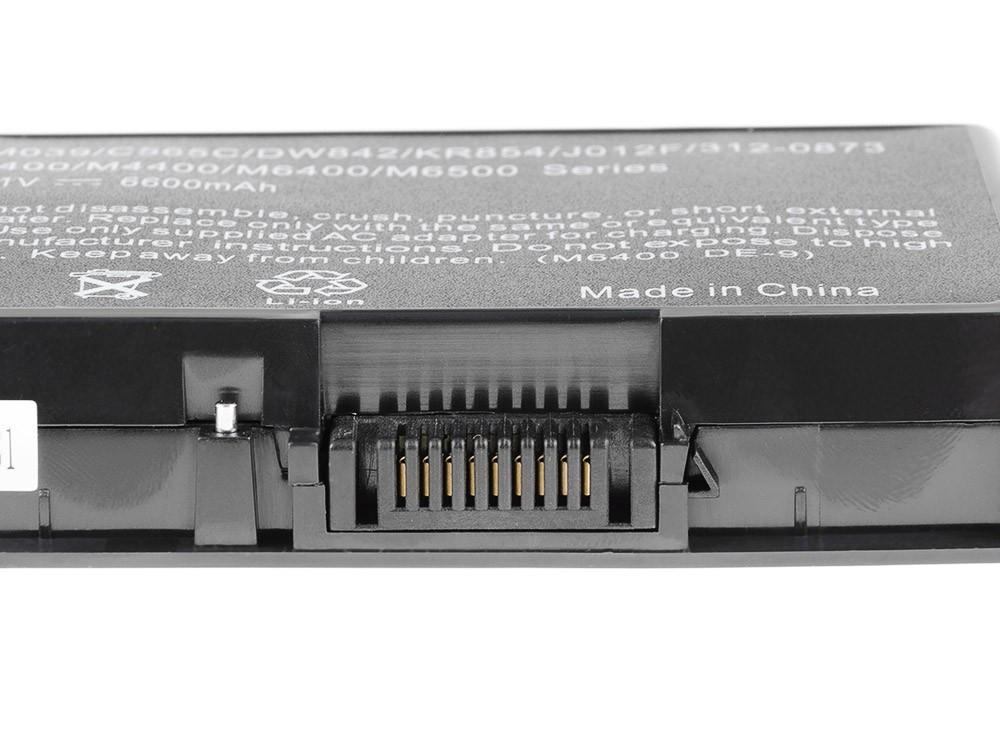 Green Cell DE62 Baterie Dell Precision M6400/M6500 6600mAh Li-ion - neoriginální