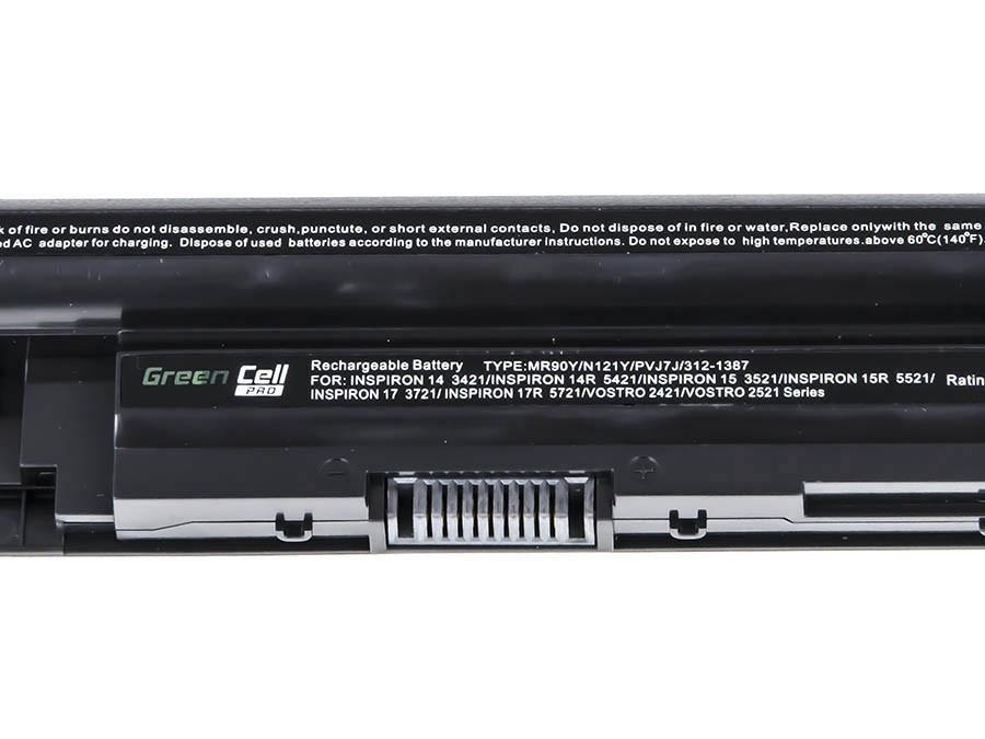 Green Cell PRO Battery for Dell Inspiron 3521 5521 5537 5721 / 11,1V 5200mAh