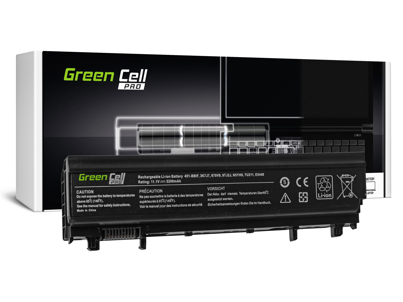 Green Cell PRO Baterie pro Dell Latitude E5440 E5540 P44G / 11,1V 5200mAh