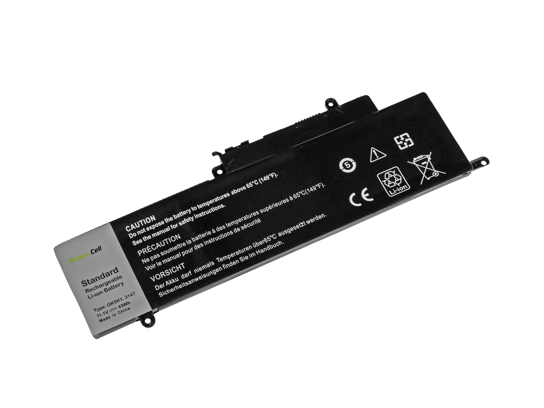 Green Cell Battery for Dell Inspiron 11 3147 3148 3152 3153 13 7347 7348 7352 / 11,1V 3500mAh