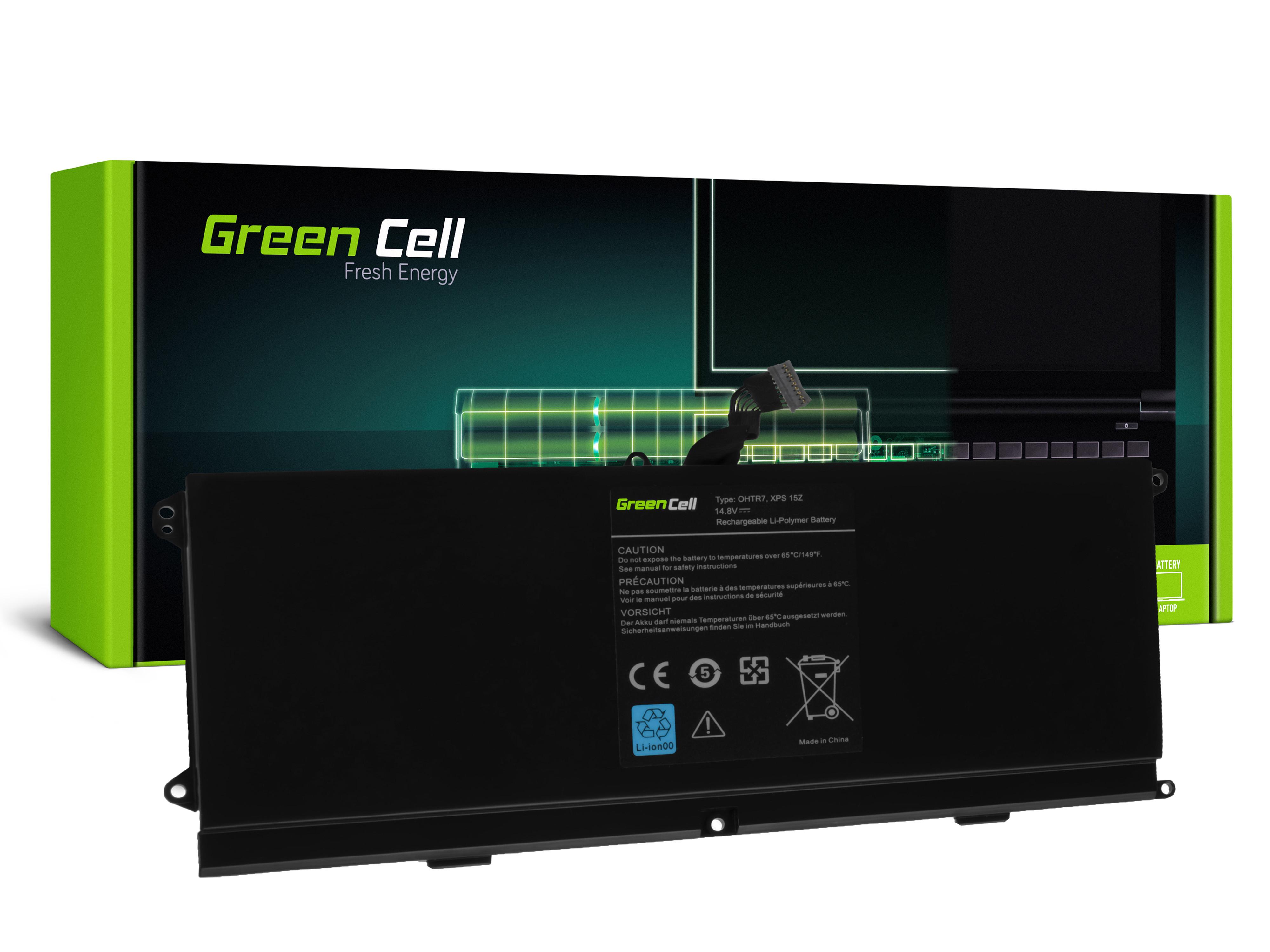 Green Cell DE86 Baterie Dell XPS 15z L511z 4300mAh Li-Pol – neoriginální