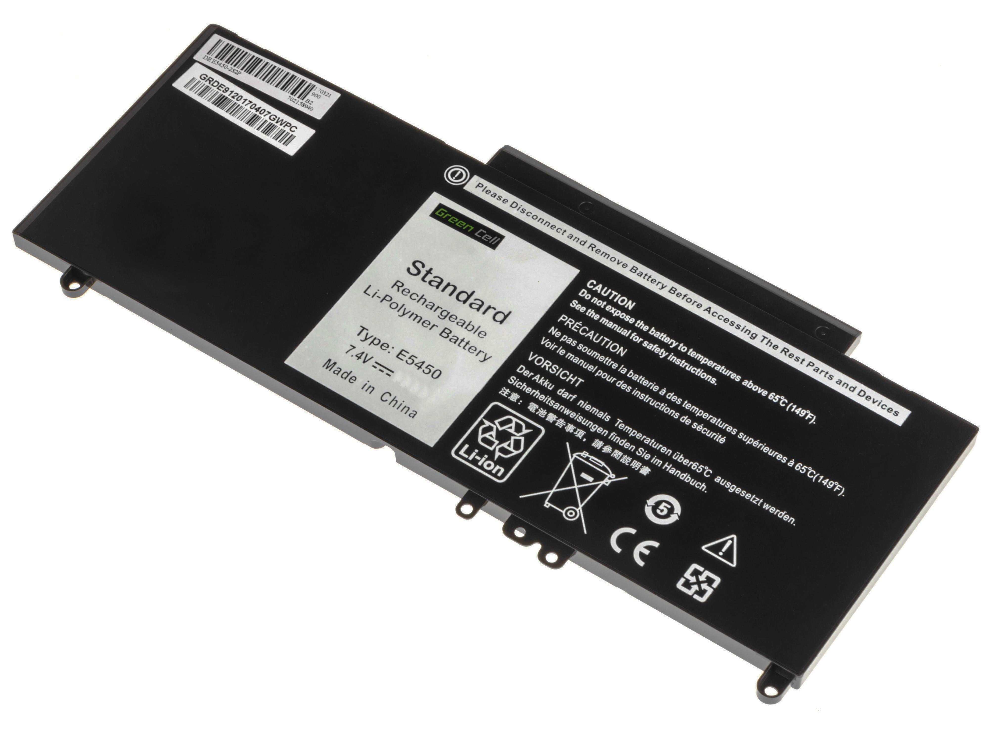 Battery Green Cell G5M10 for Dell Latitude E5450 E5550