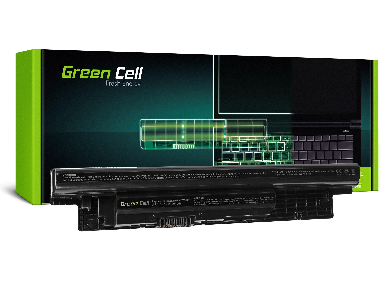 Green Cell DE97 Baterie Dell MR90Y/XCMRD/Dell Inspiron 15/15R/17 2200mAh Li-ion - neoriginální