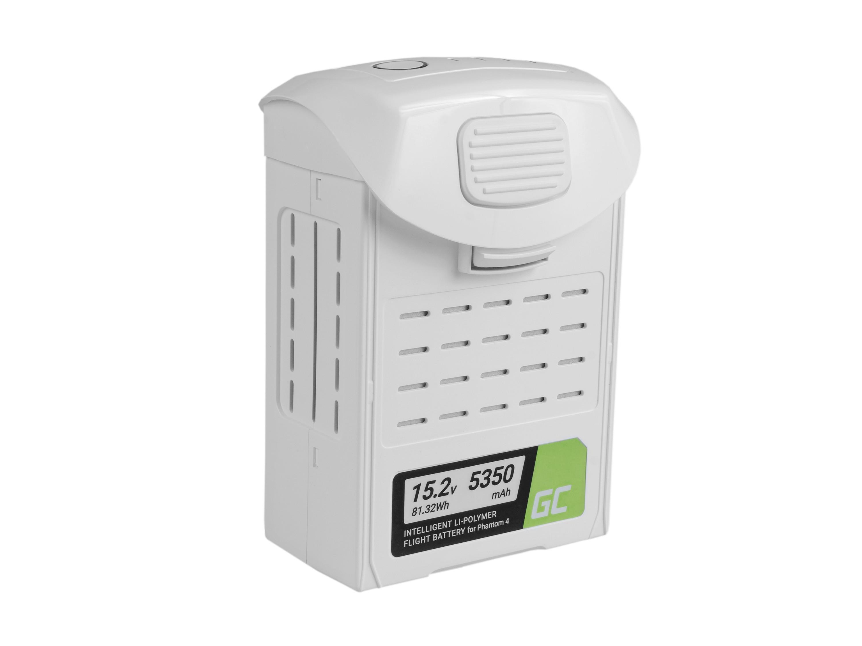 Baterie Green Cell DJI Phantom 4, Phantom 4 Pro, Phantom 4 Pro+ 5350mAh Li-Pol – neoriginální