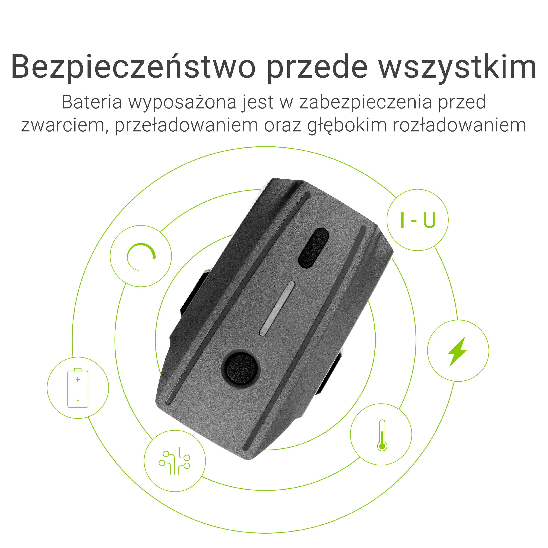 Green Cell Drone Battery for DJI Mavic Pro 11.4V 3830mAh 43.6Wh